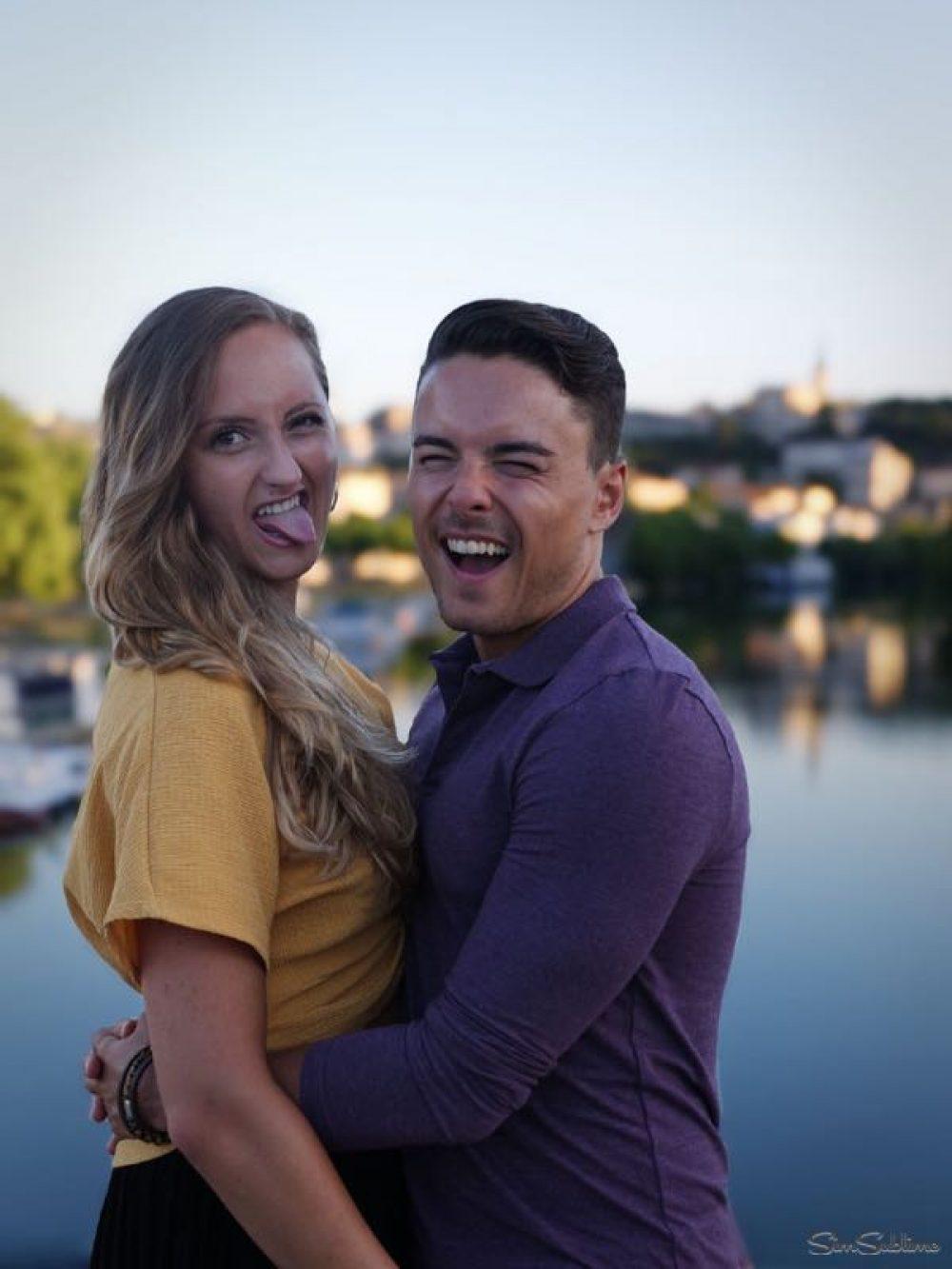 Portrait du couple Alex et Carla