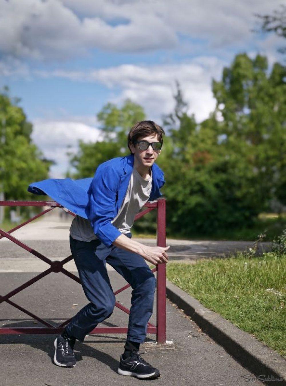 Antoine JACQUIN book comédien - superman