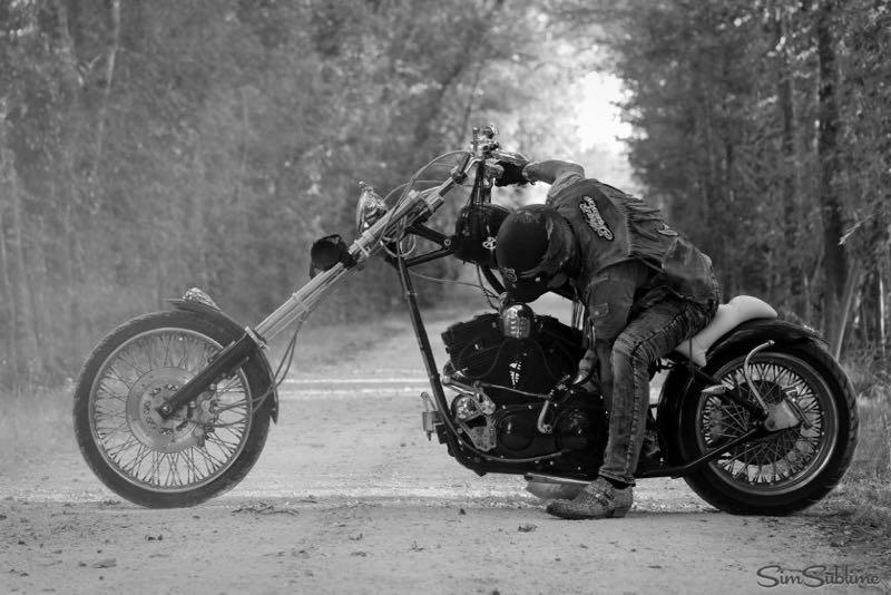 Portrait du motard Sylvain A.